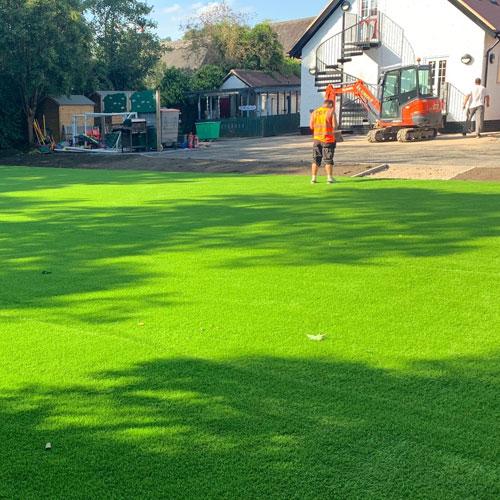 Installed 30mm Grass