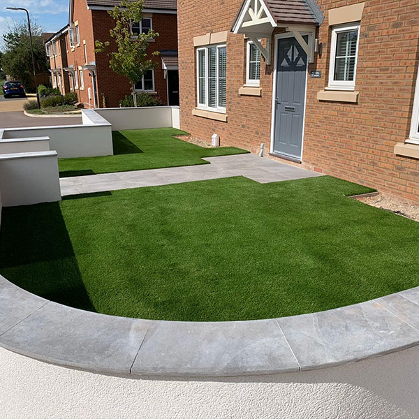 Installed PermaLawn Grass