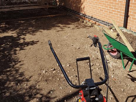 Preparing Artificial Grass