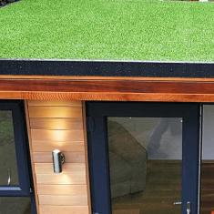 Artificial Grass Roof